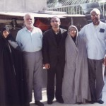 The author with the Muhammadi family.