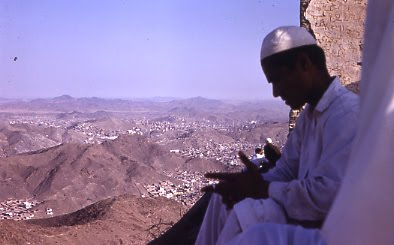 Mecca seen from Jebel Nur
