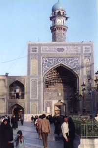 The shrine of Imam Ali ibn Musa al-Rida (as).